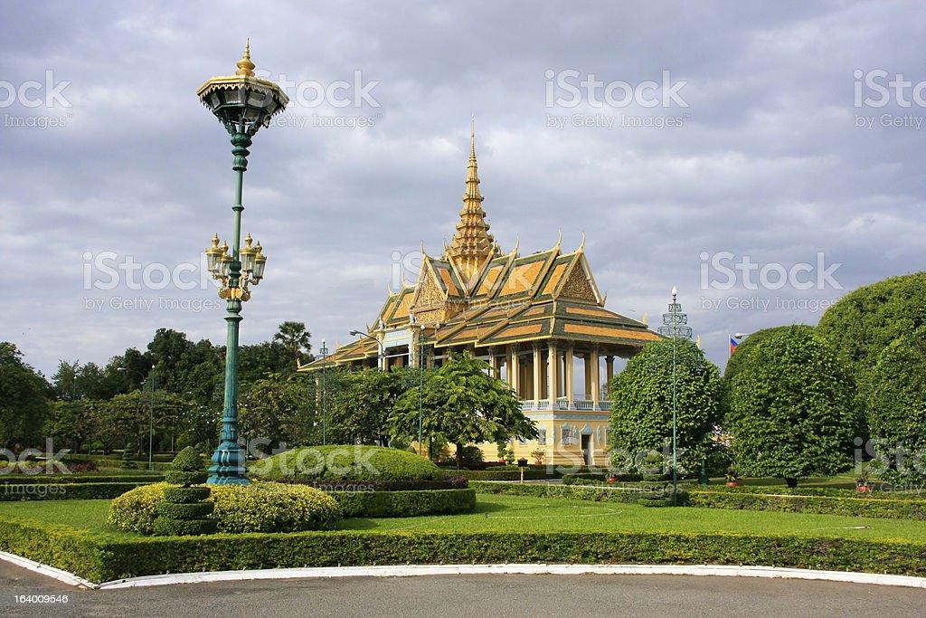 Moonlight Pavailion, Royal Palace, Phnom Penh, Cambodia royalty-free stock photo