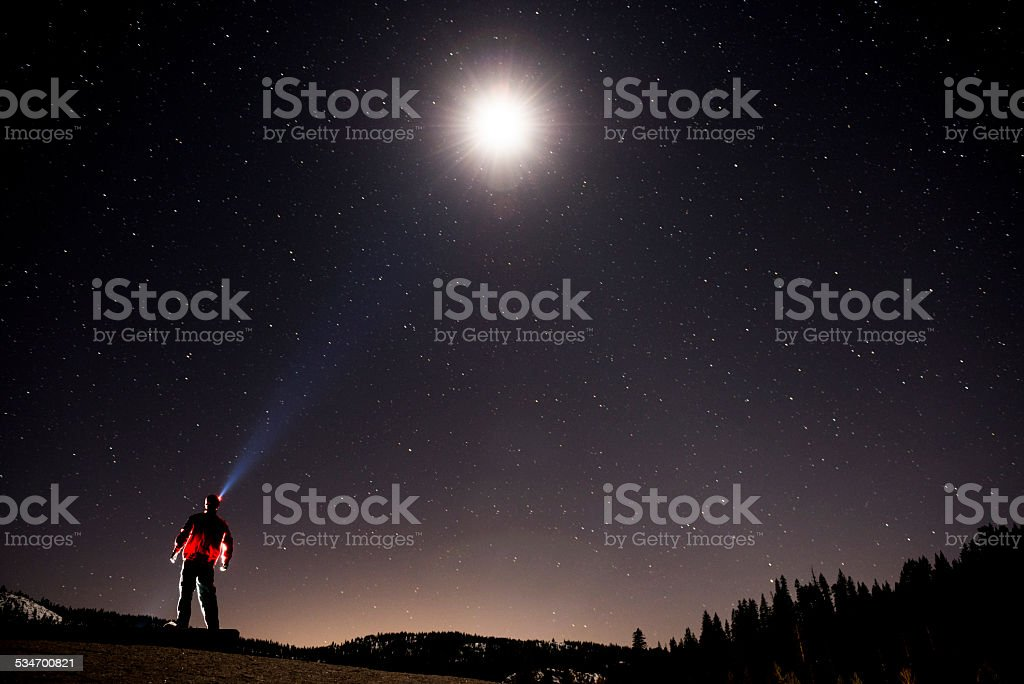 moonlight stock photo