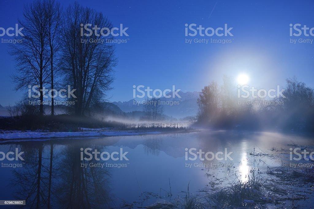 Moonlight Sonata stock photo
