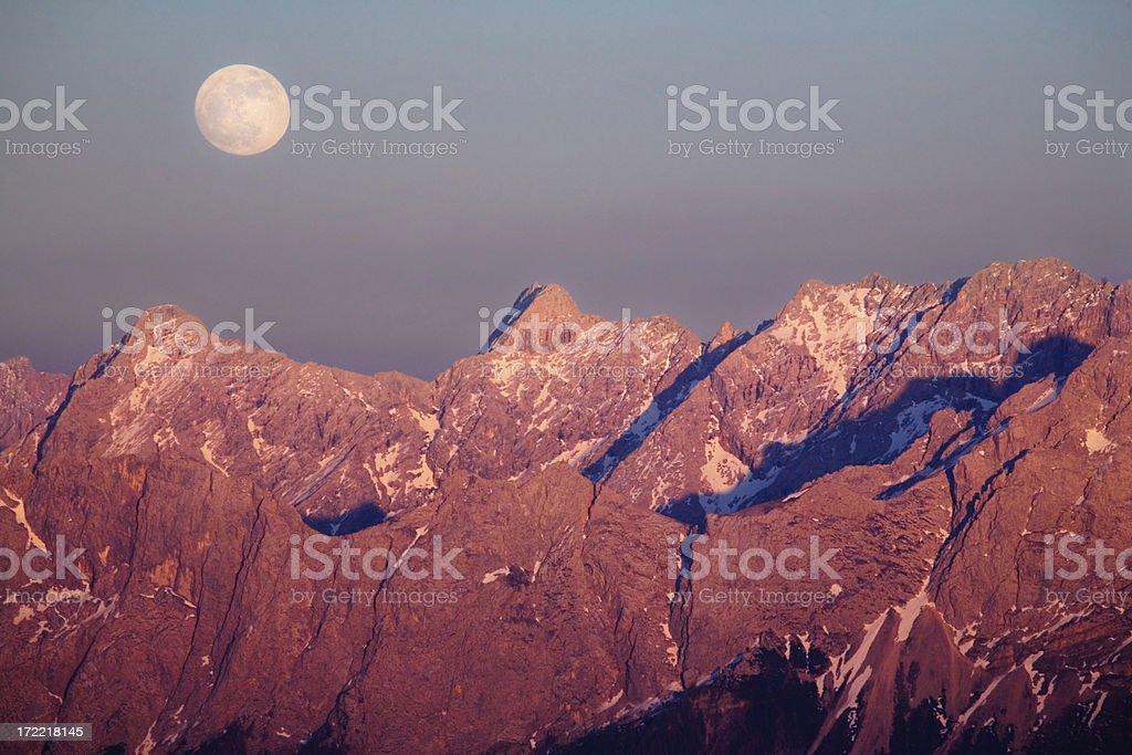 moonrise royalty-free stock photo