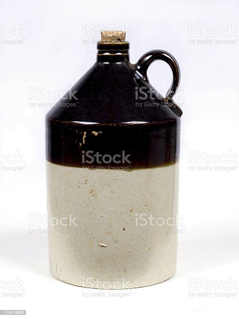 moonshine jug stock photo
