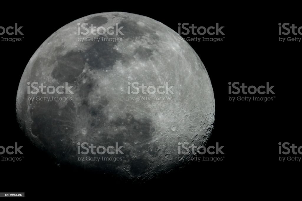 Moonshot royalty-free stock photo