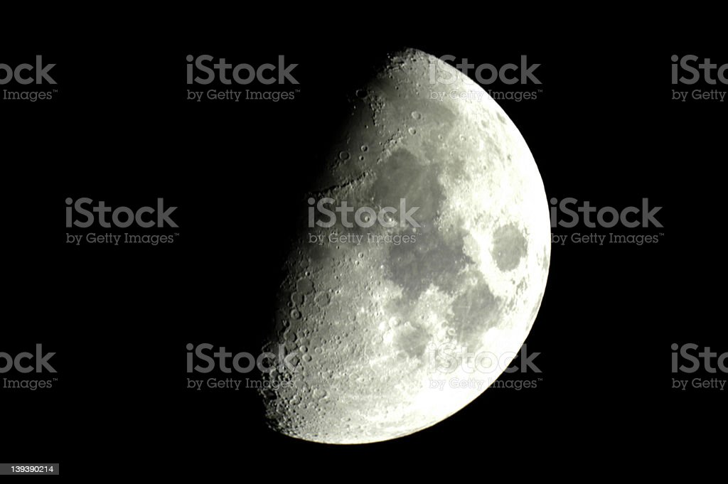 Moonwax royalty-free stock photo