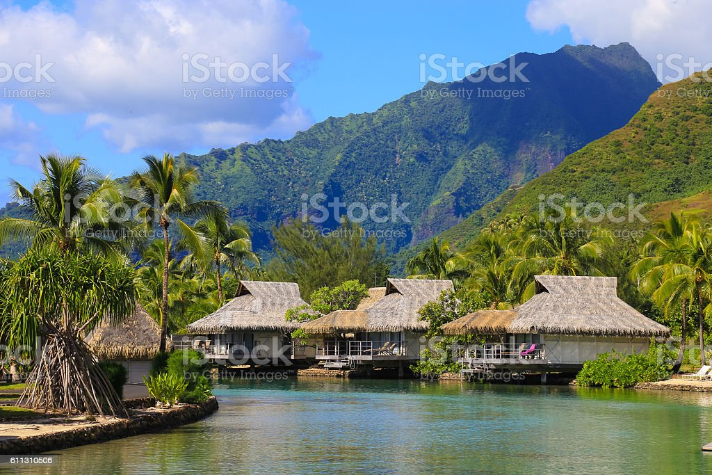 Moorea, French Polynesia stock photo