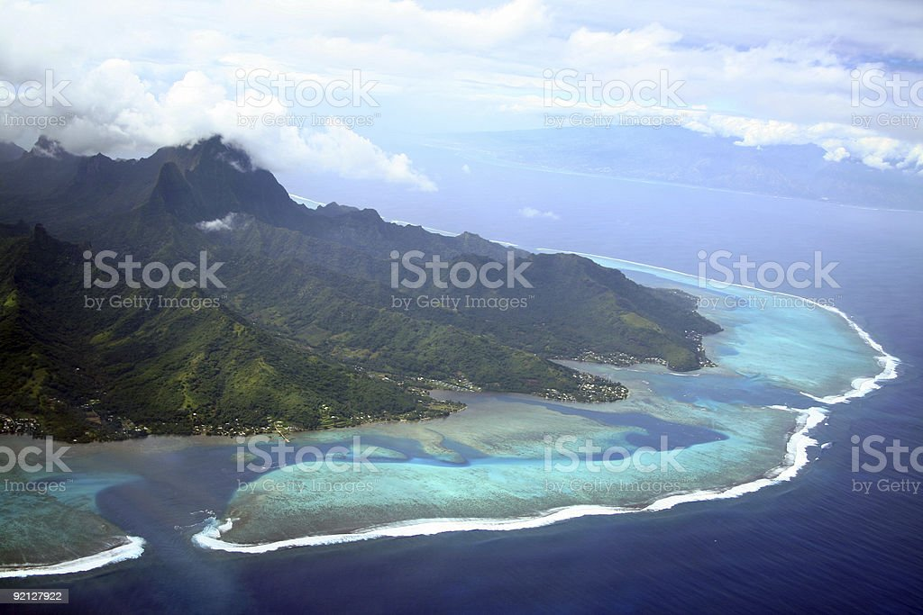 Moorea Island stock photo