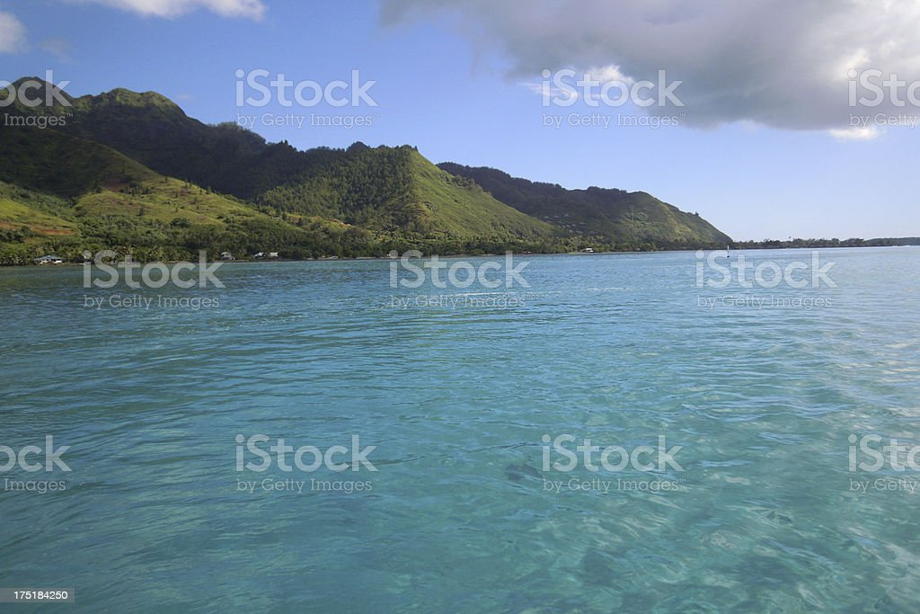 Moorea, Tahiti royalty-free stock photo