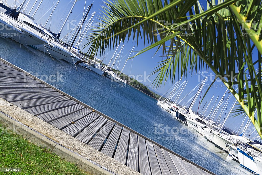 moored luxury royalty-free stock photo