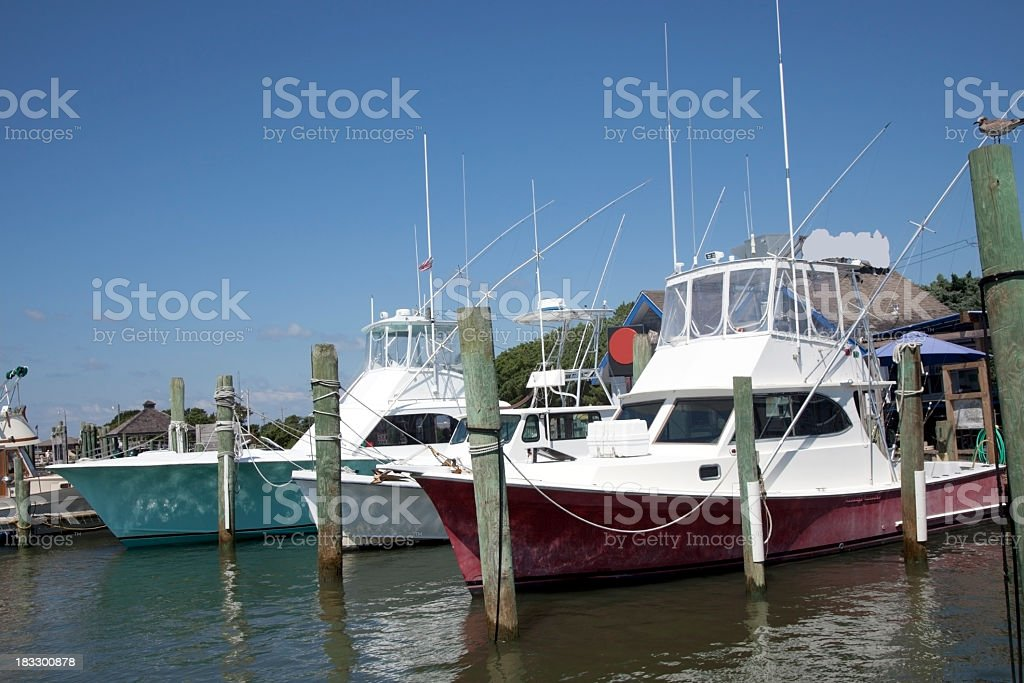 Moored stock photo