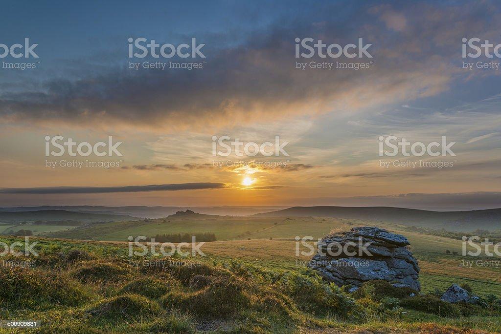 Mooreland Landscape stock photo