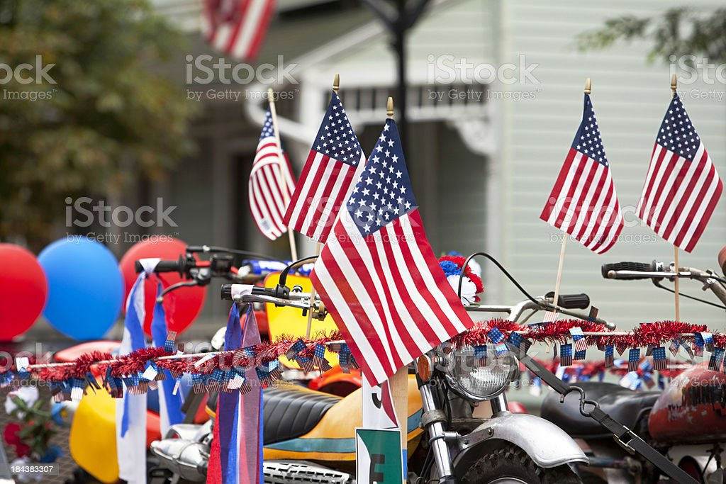Moorestown NJ July 4th Parade stock photo