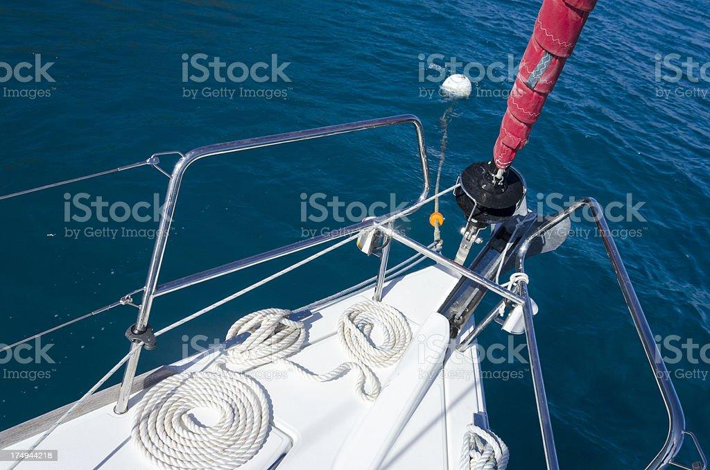 Mooring Buoy royalty-free stock photo