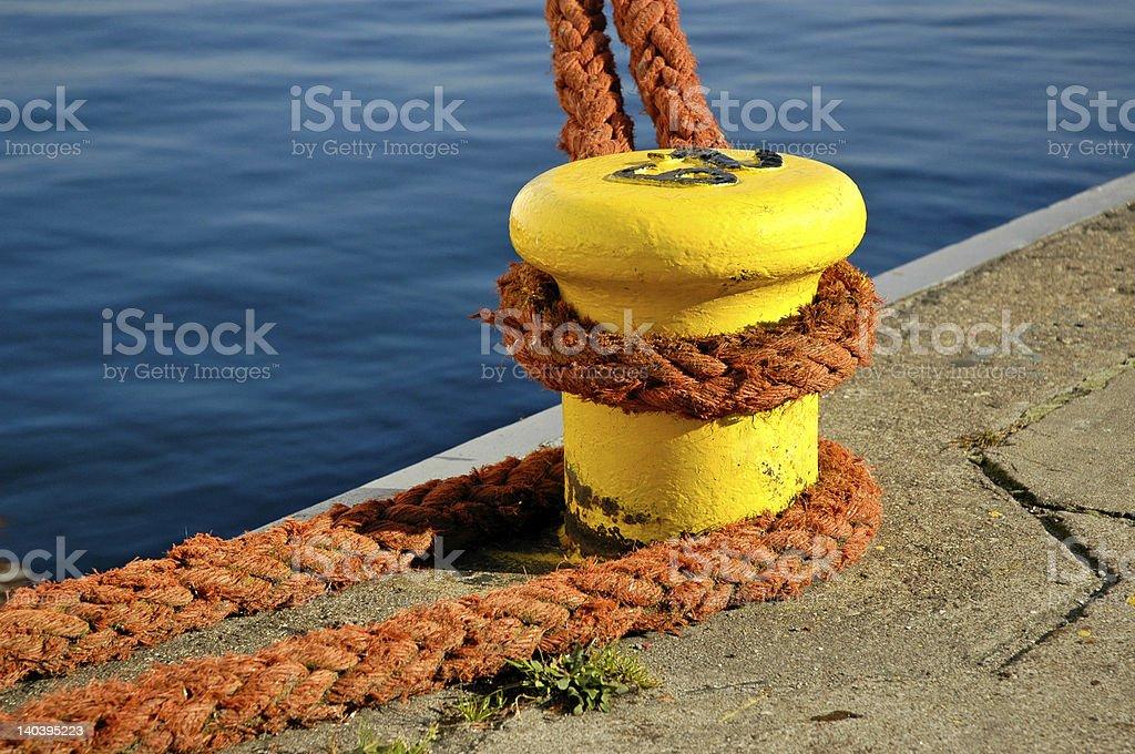 mooring line, cuma stock photo
