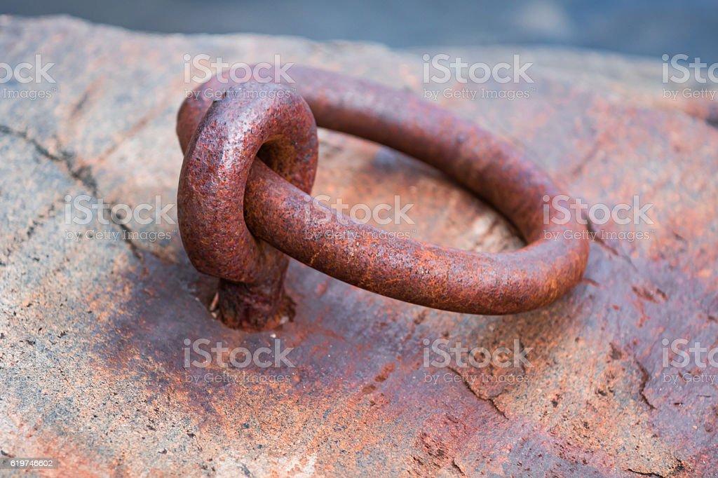 Mooring stock photo