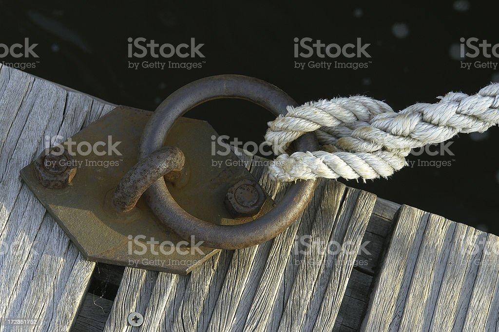 Mooring Ring royalty-free stock photo