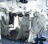Mooring Winch on a large vessel