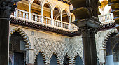 Moorish art from Seville in Spain