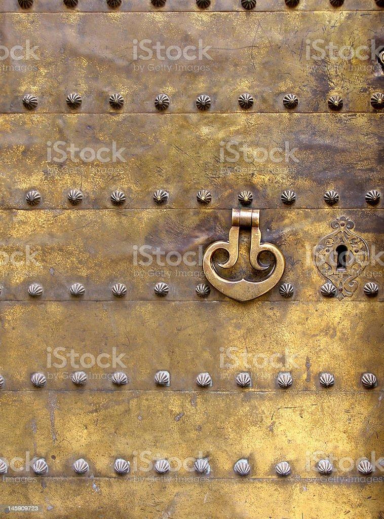 Moorish Door royalty-free stock photo