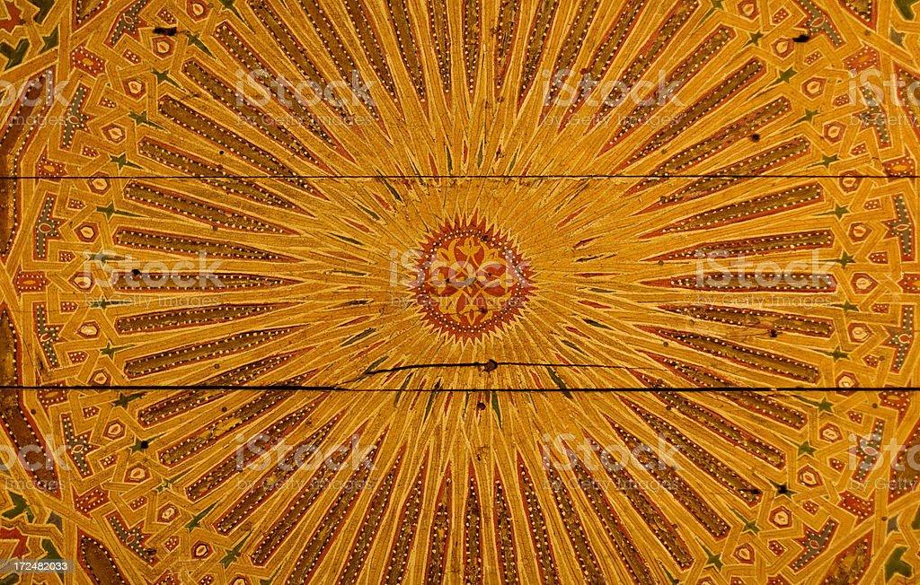 Moorish mosaic royalty-free stock photo