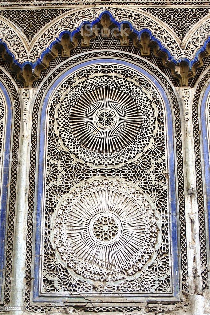 Moorish niche stock photo