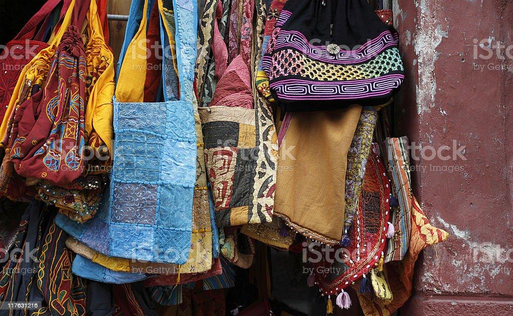Moorish street market royalty-free stock photo
