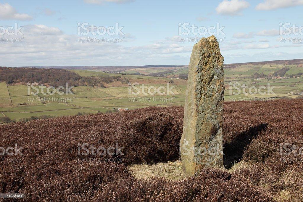 Moorland Stone (XXXL) royalty-free stock photo