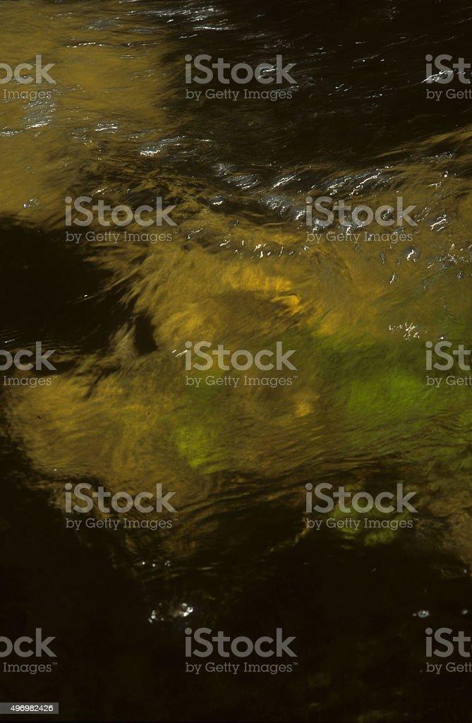 Moorland Stream stock photo