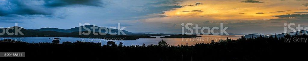 Moosehead Lake stock photo