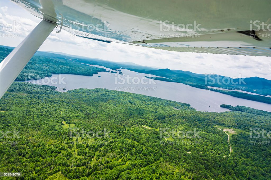 Moosehead Lake. stock photo