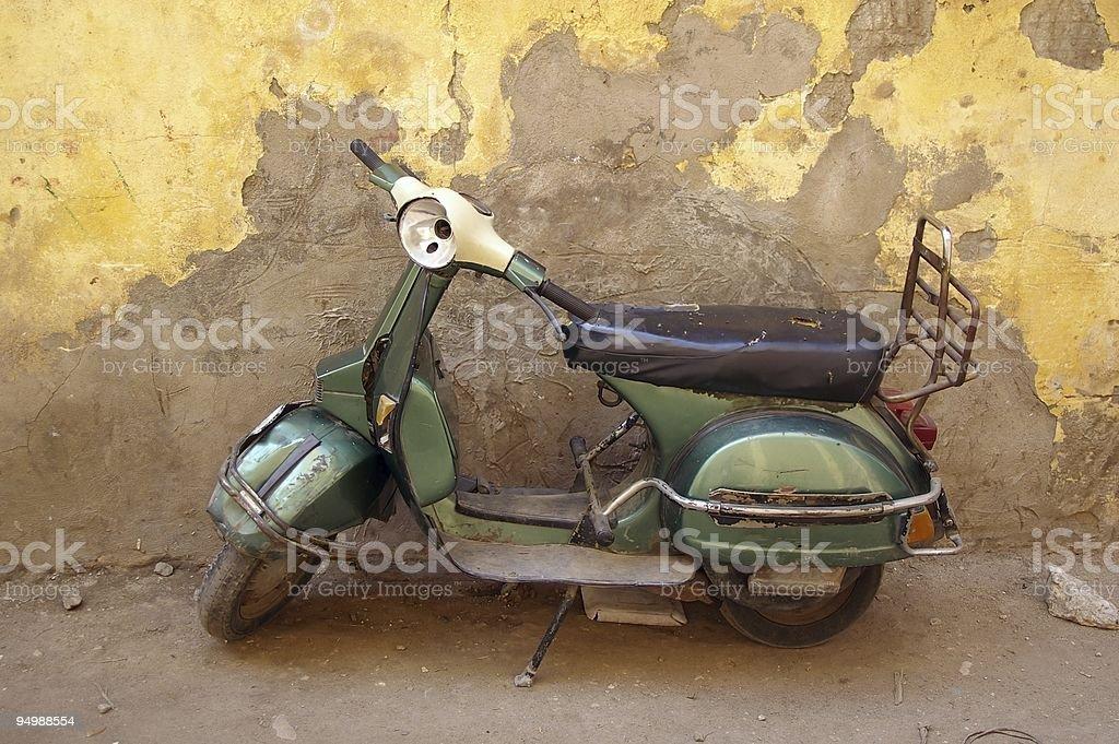 moped cairo egypt royalty-free stock photo