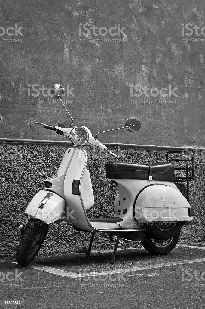 Moped royalty-free stock photo