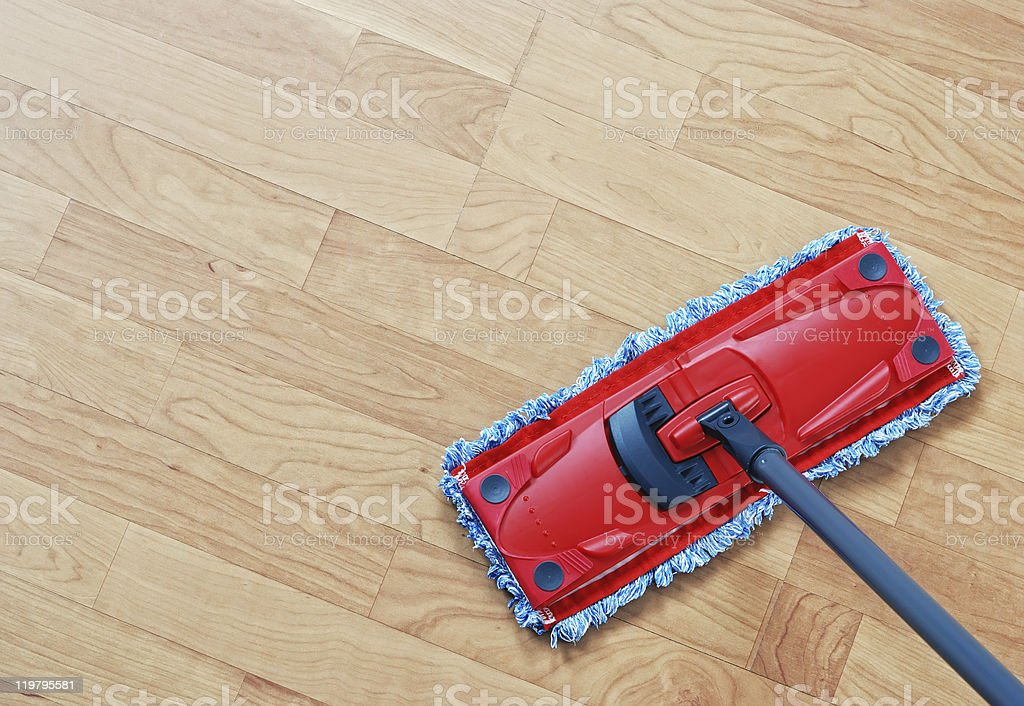 Mopping stock photo