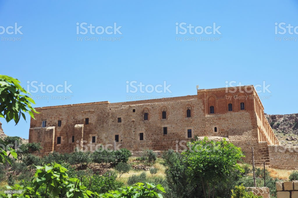 Mor Hananyo Monastery, Mardin, Turkey stock photo