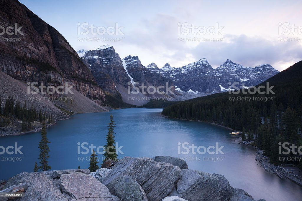 Moraine Lake  Banff National Park, stock photo