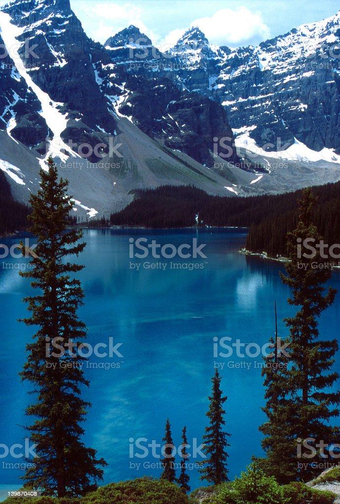 Moraine Lake, Canada royalty-free stock photo