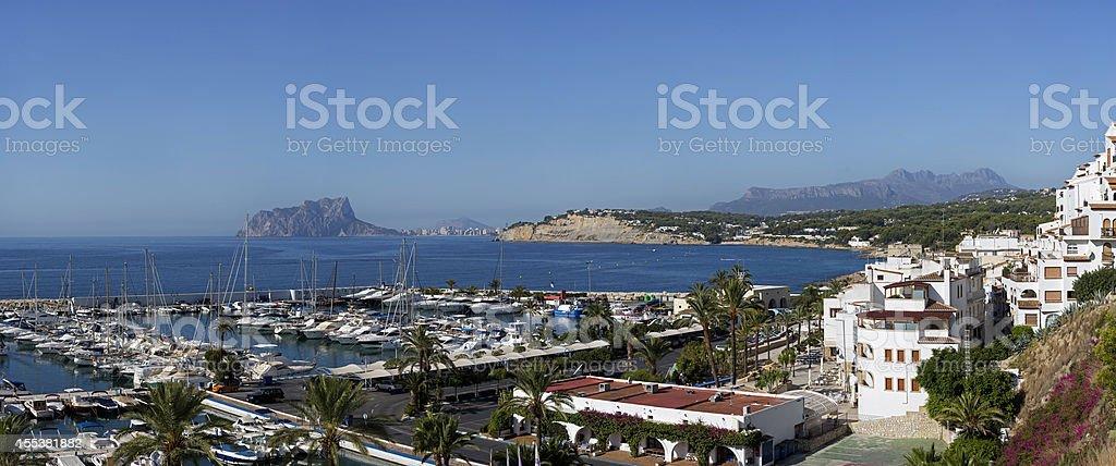 Moraira, Spain royalty-free stock photo