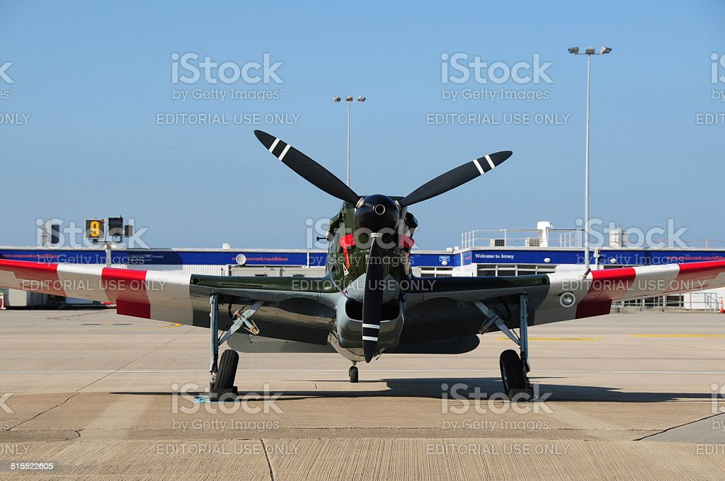Morane-Saulnier M.S.406, U.K. stock photo