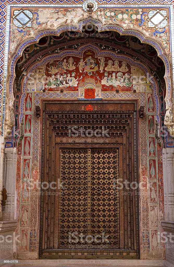 Morarka haveli royalty-free stock photo