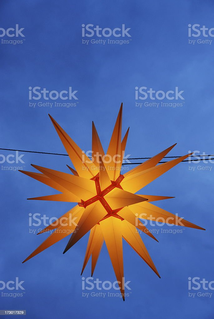 Moravia star stock photo