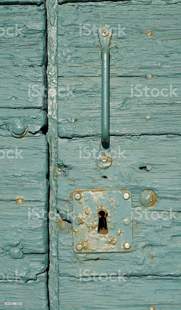 morbid door lock stock photo