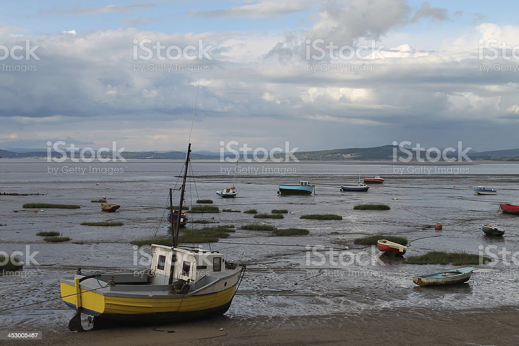 Morcambe Bay stock photo