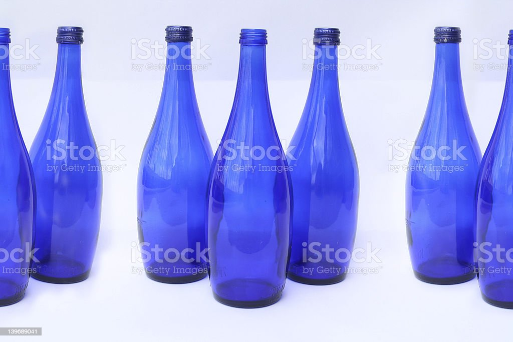 More beautiful bottles stock photo
