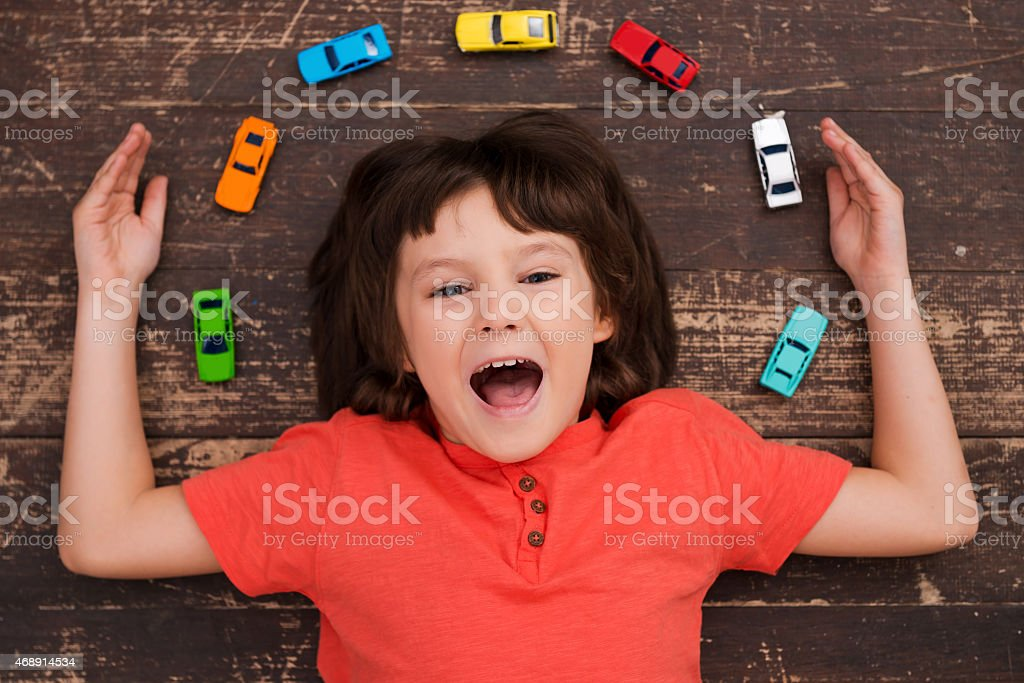 More cars more joy! stock photo