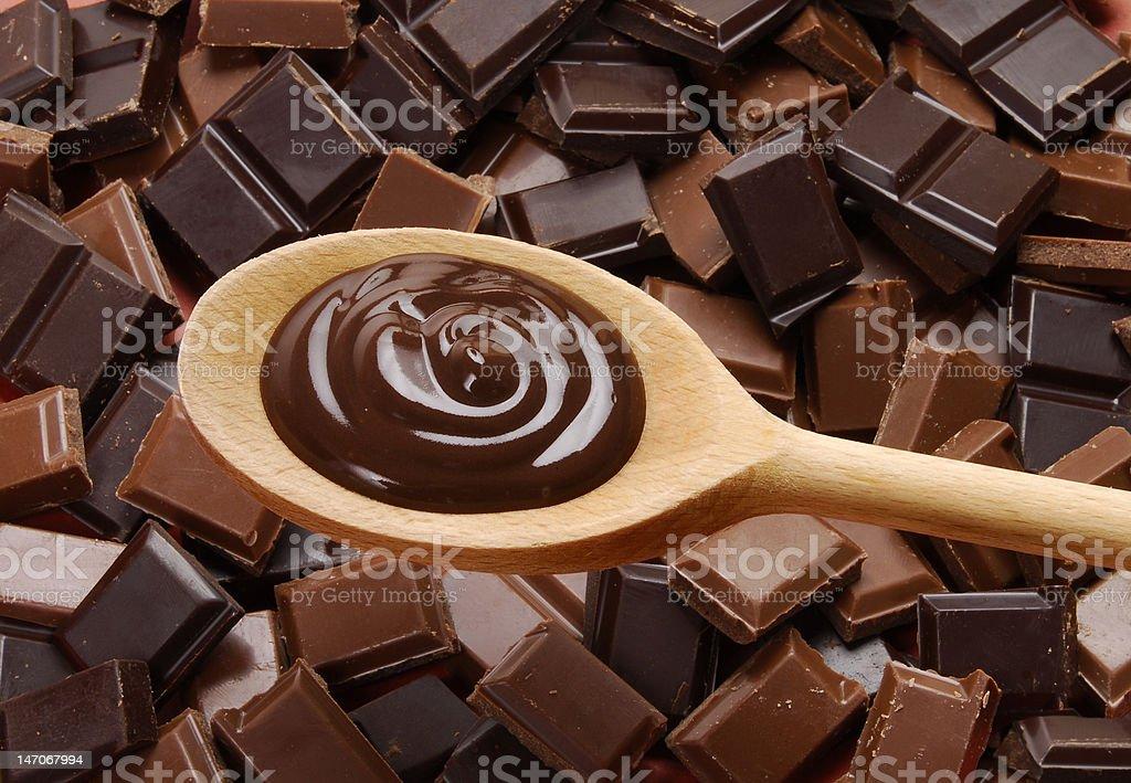 More chocolate. stock photo
