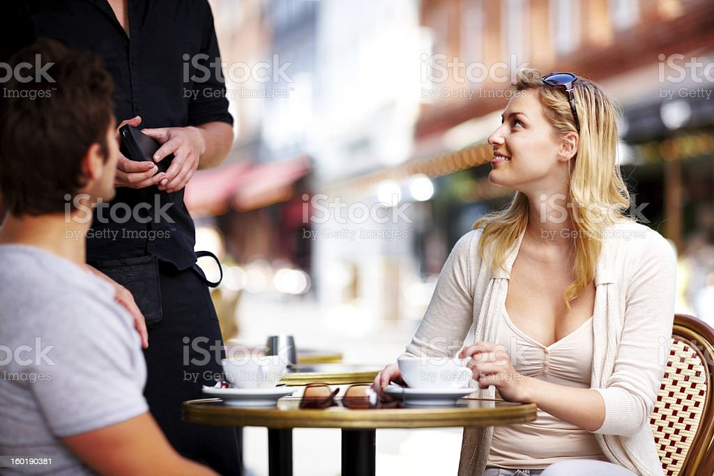 More coffee please stock photo