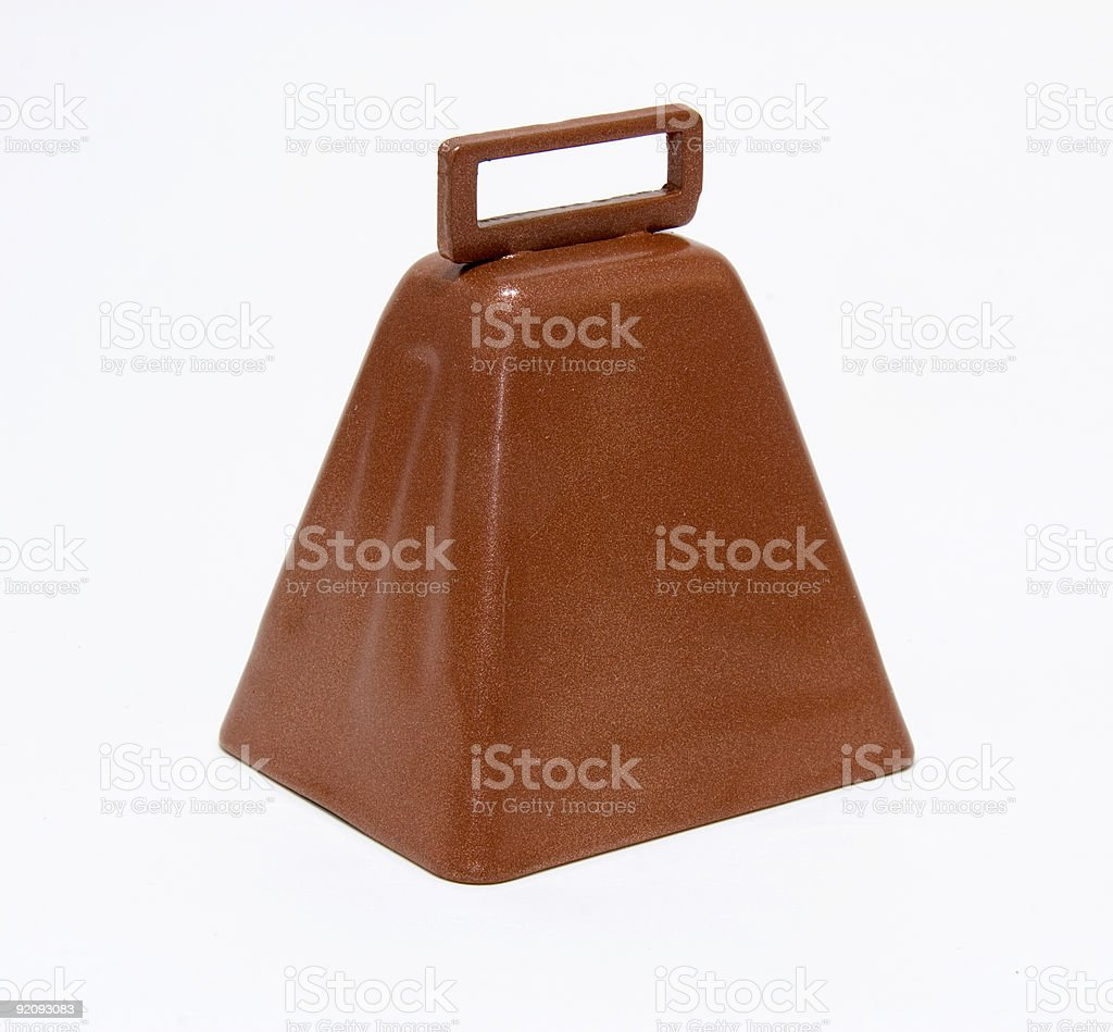 More Cow Bell stock photo