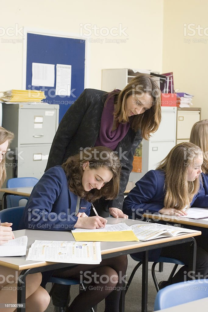 More fun in class royalty-free stock photo