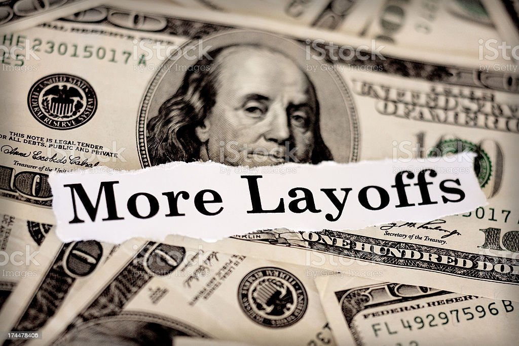 more layoffs royalty-free stock photo