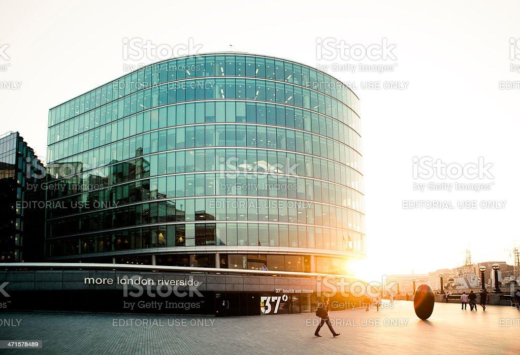 More London Riverside royalty-free stock photo