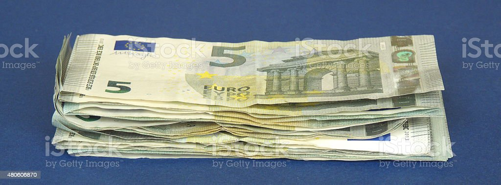 more money... stock photo