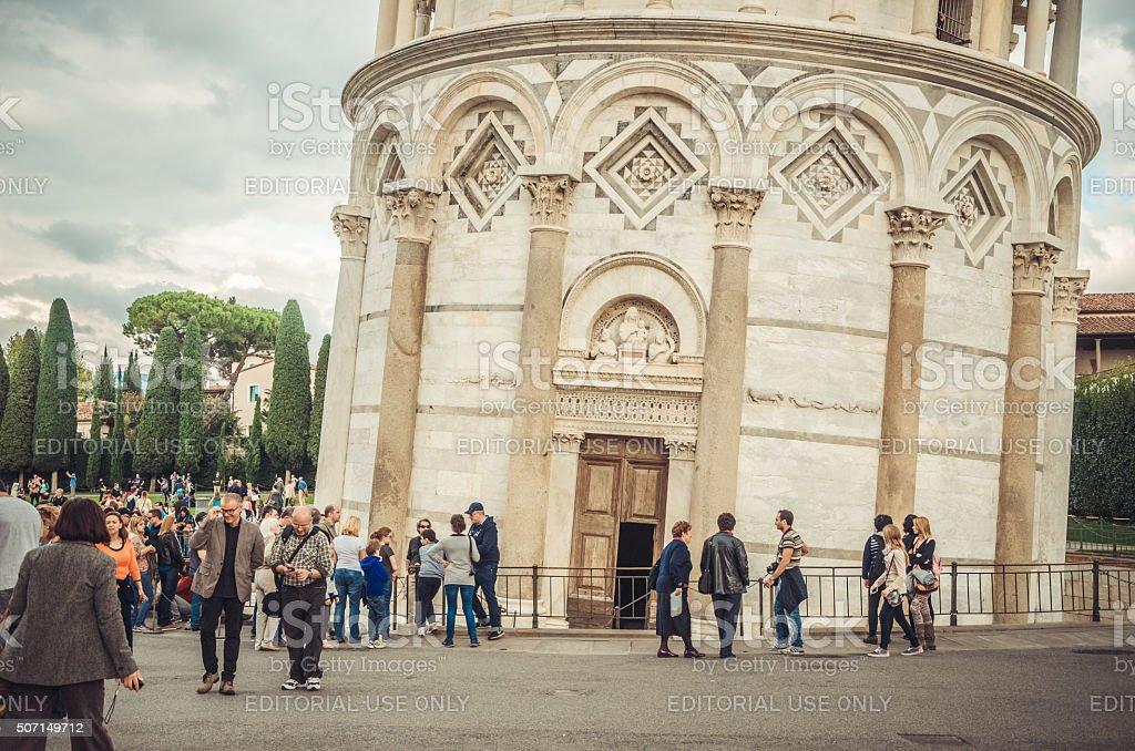 More than 800 years of wonder - Pisa tower stock photo
